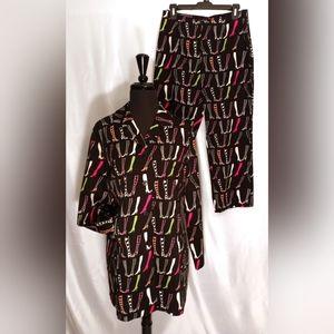 Anne Carson Pet. 10/12 Novelty Cropped Pant Suit
